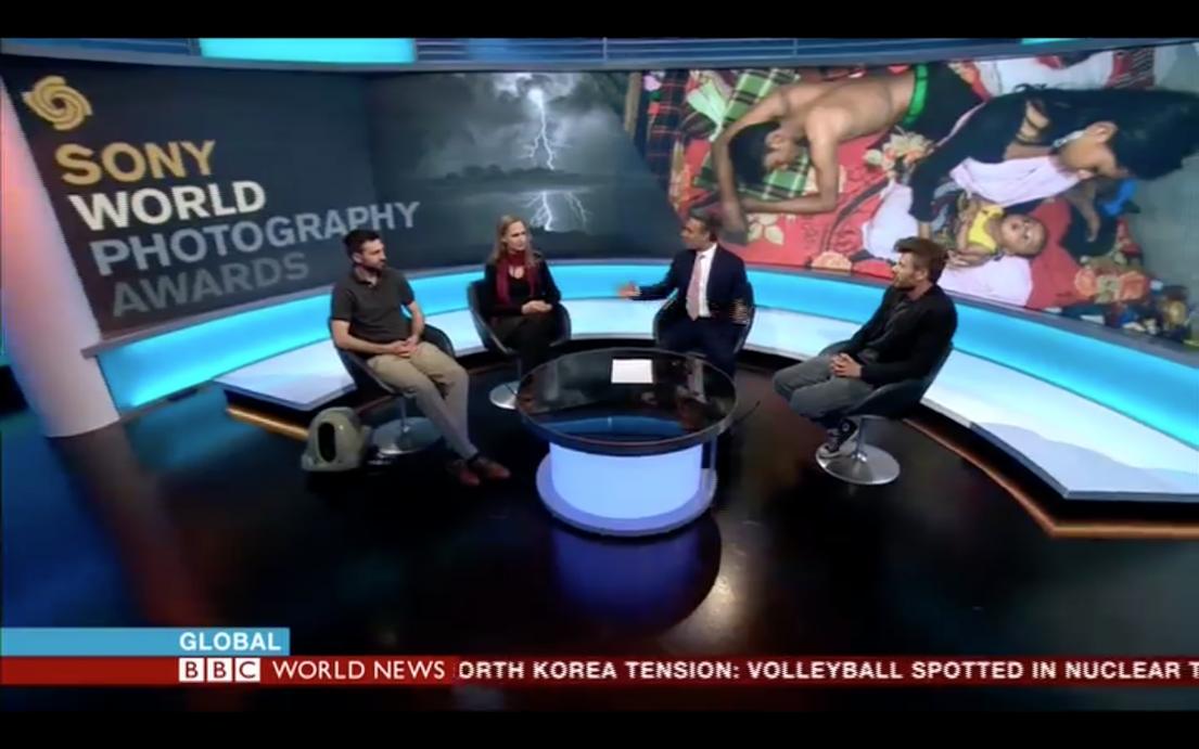 BBC WORLD News, 21 April 2017 – Sandra Hoyn Photography